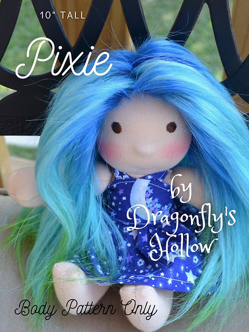 "Pixie 10"" - Pattern Only"