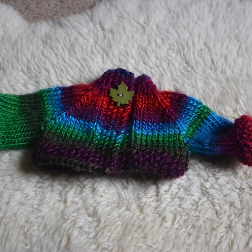 RTG - Imp - Sweater Hand Knit Rainbow