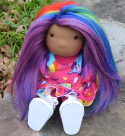 Rainbow Haired Imp