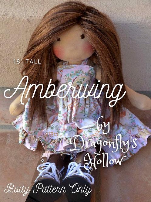 "Amberwing 18"" - Pattern Only"