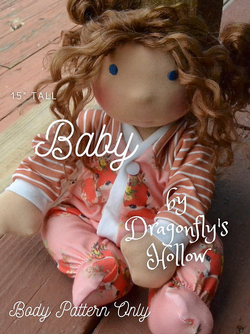 """Baby 15"""" - Pattern Only"""
