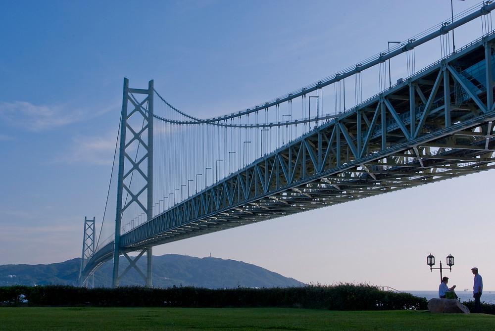 Мост Акаси-Кайкё. Фото Xiaojun Deng