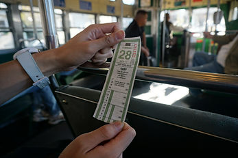 Билеты на наземный транспорт в Сан-Франциско