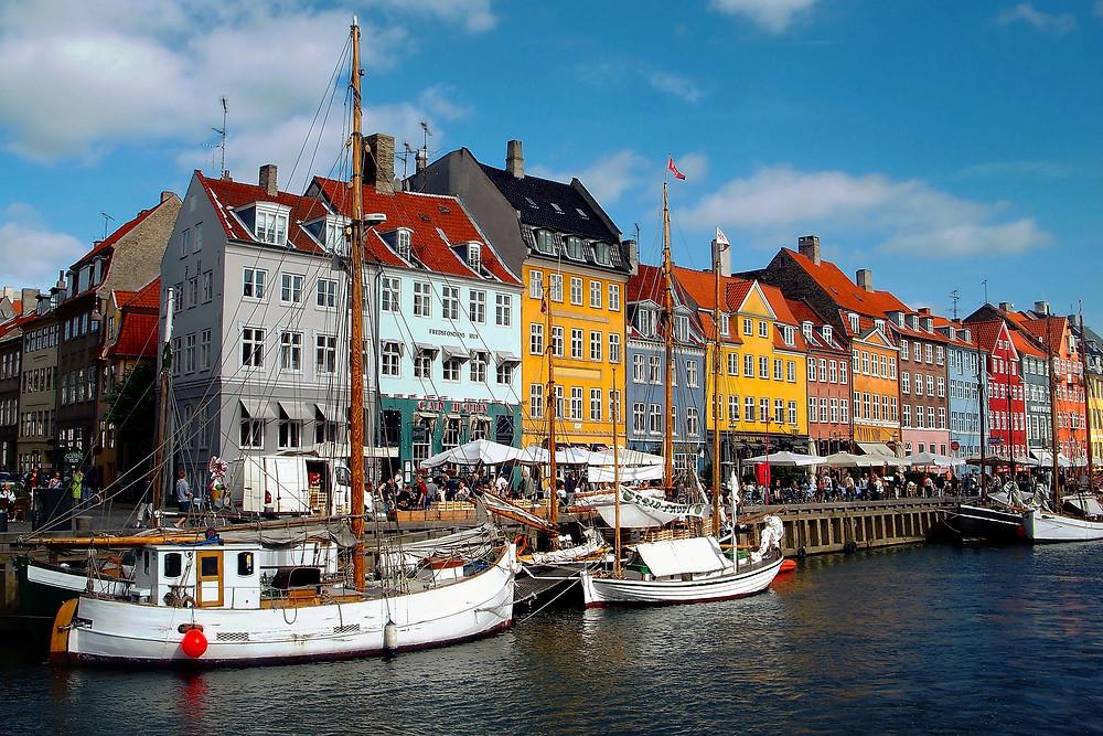 Нюхавн (Новая Гавань) в Копенгагене. Фото John Anes, Flickr (c)