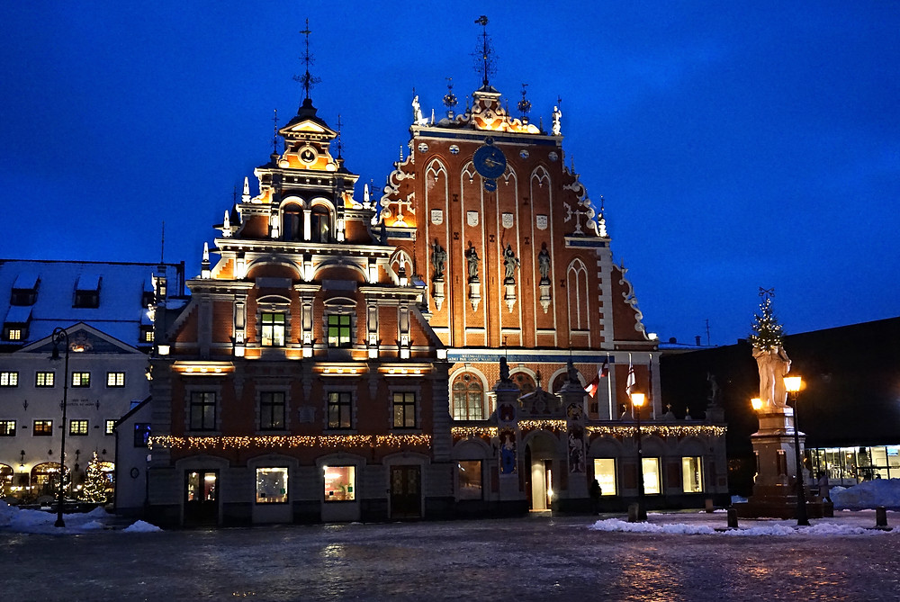 Дом Черноголовых, Рига