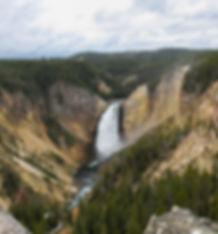 Нижний Водопад Йеллоустоун