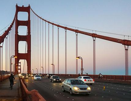 Велопрогулка по Сан-Франциско. Golden Gate Bridge.