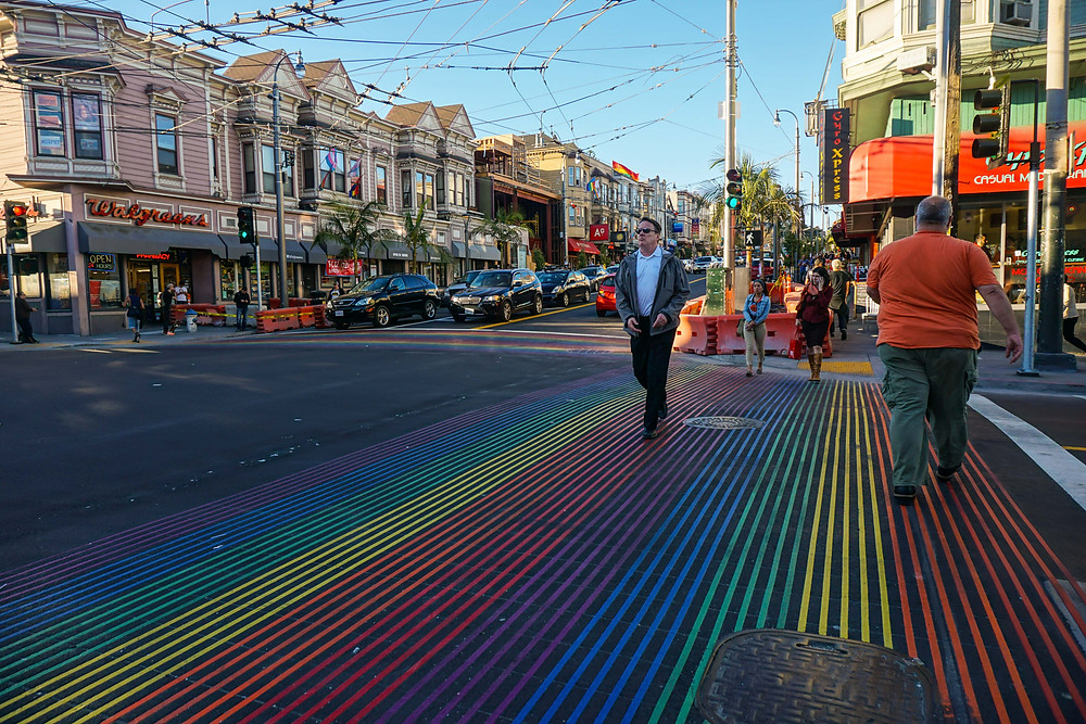 Район Кастро в Сан-Франциско. Be a Voyager (c)