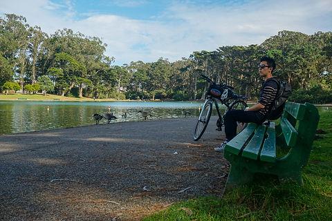 Велопрогулка в парке Золотые ворота