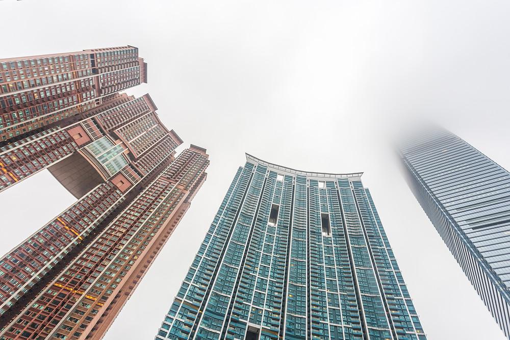 Отверстия для драконов в Гонконге