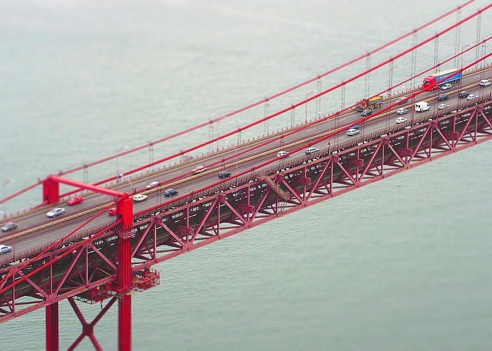 Мост 25 апреля. Фото  manfred.d