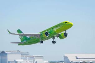 S7 первой в России получила новый Airbus A320neo
