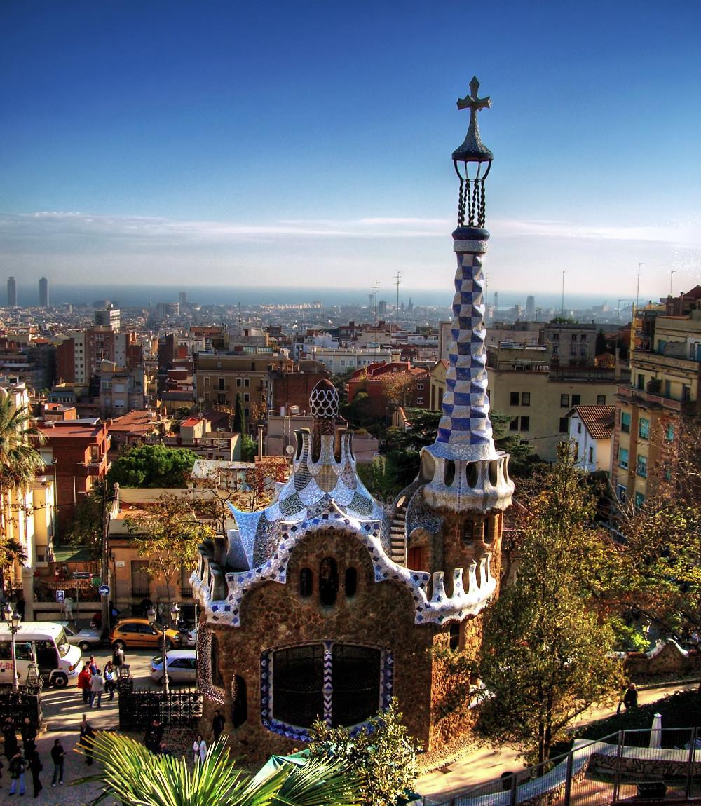 Барселона - Парк Güell. Фото Juan Salmoral, Flickr (c)