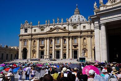 Собор Святого Петра во время мессы Папы Римского