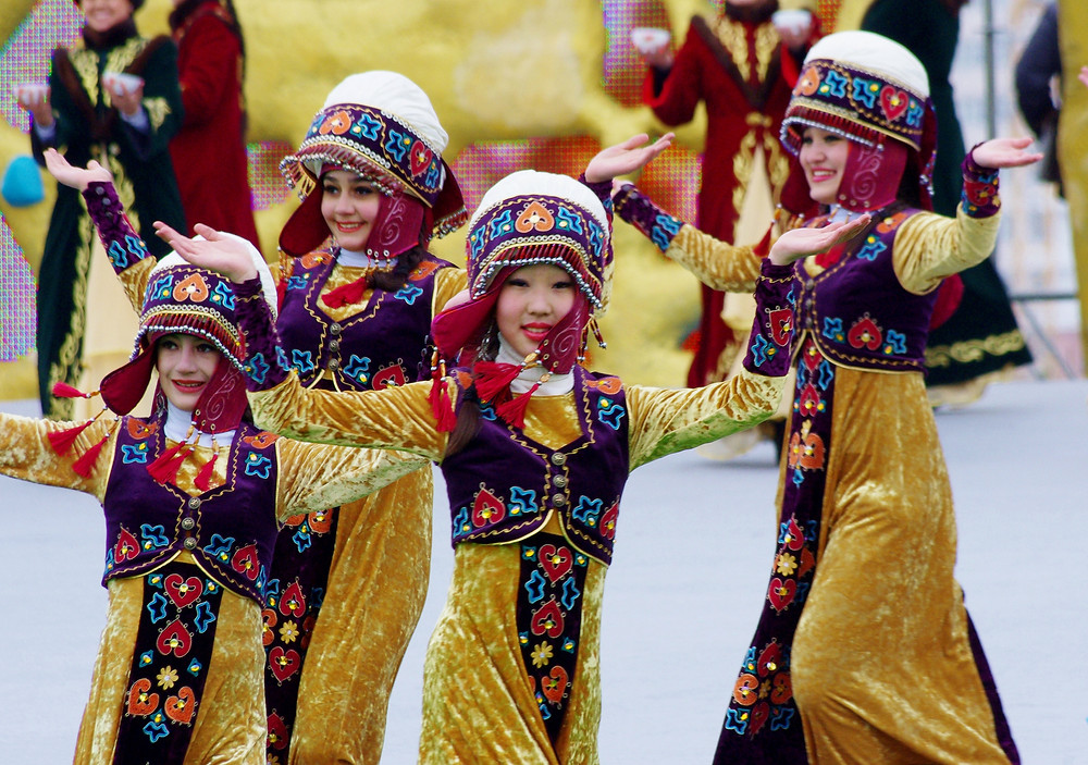 Празднование Новруза в Астане (Казахстан). Фото Ken and Nyetta