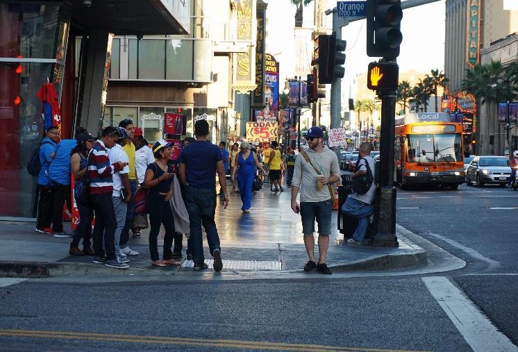 Голливуд, Лос-Анджелес, Калифорния, США. Фото Be a Voyager (c)