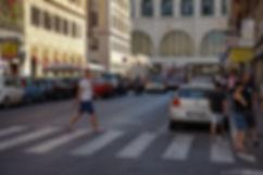 Улицы вокруг вокзала Рим-Термини