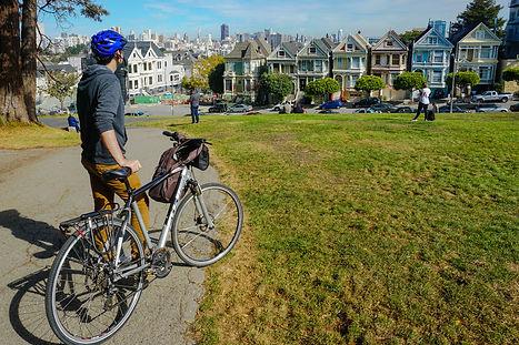 Велопрогулка по Сан-Франциско. Painted Ladies.