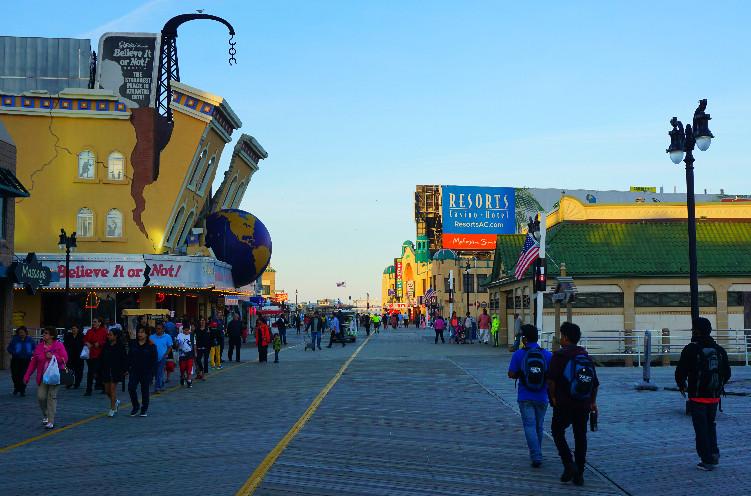 Атлантик-Сити, Нью-Джерси, США. Фото Be a Voyager (c)