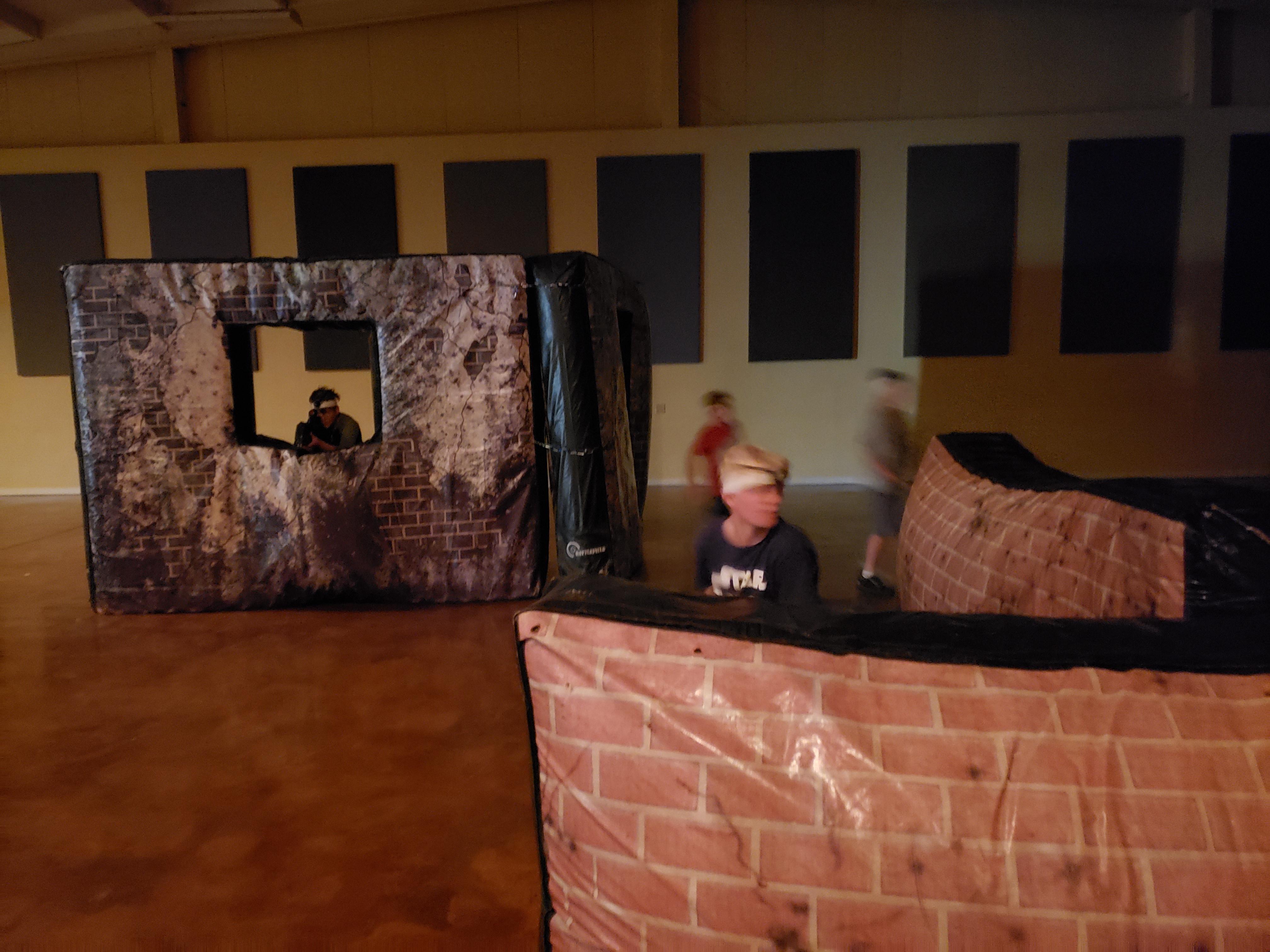 Guns & Large Bunkers