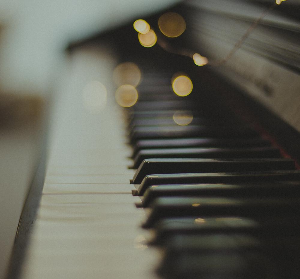 Glittering Piano