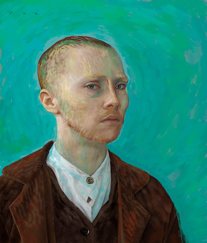 Katerina Belkina, For Van Gogh (Serie Paint)