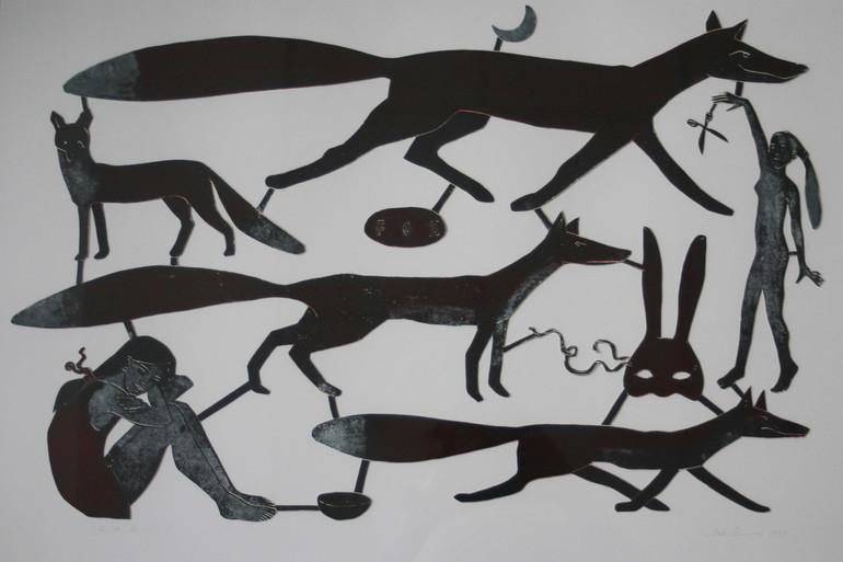 Anke Theinert, FOX VIII (Unikat), Linold