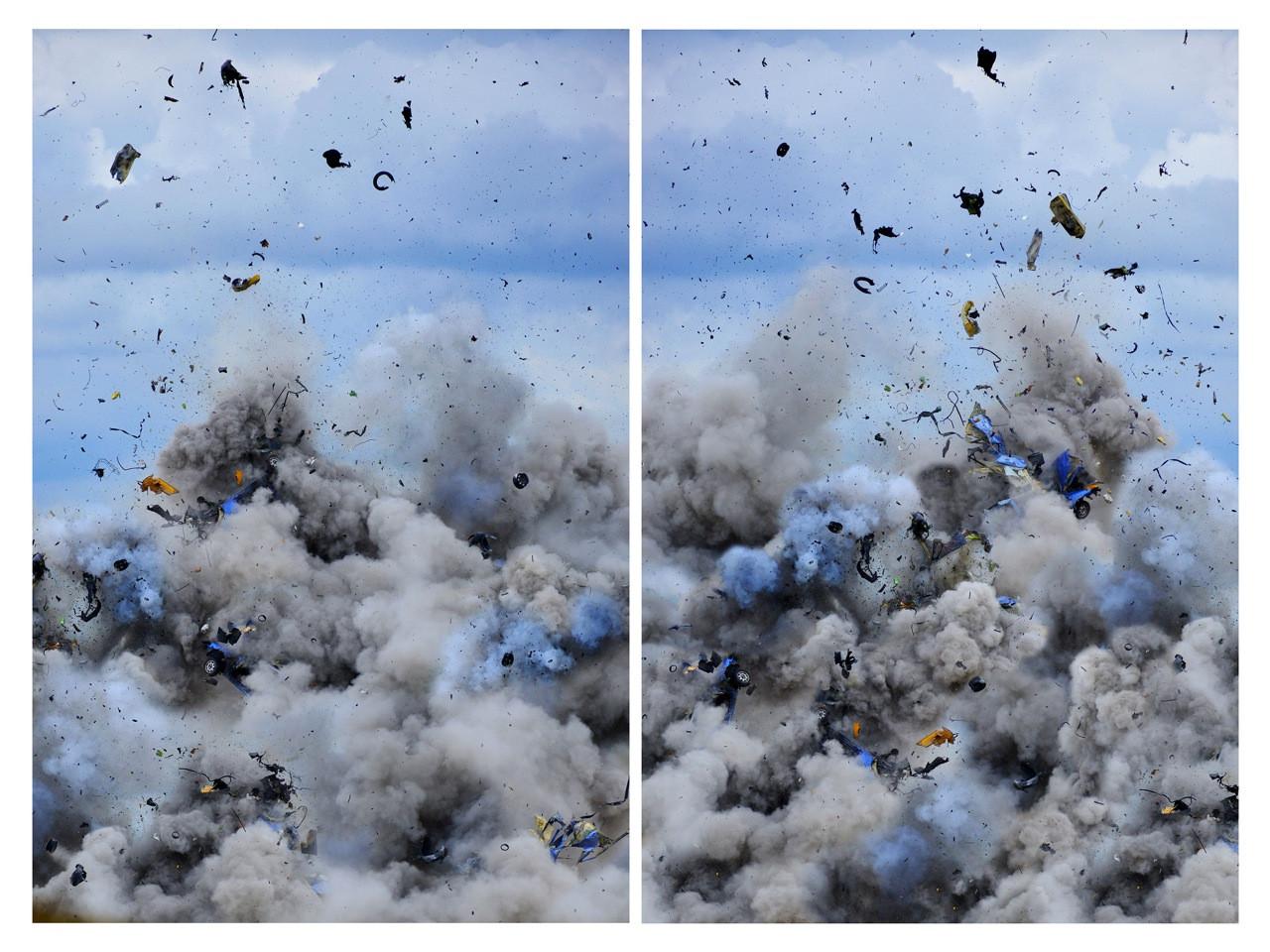 Daniel und Geo Fuchs, Explosion - Diptychon
