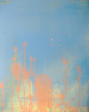 Kathleen Knauer, Spring, 2020, Acryl auf