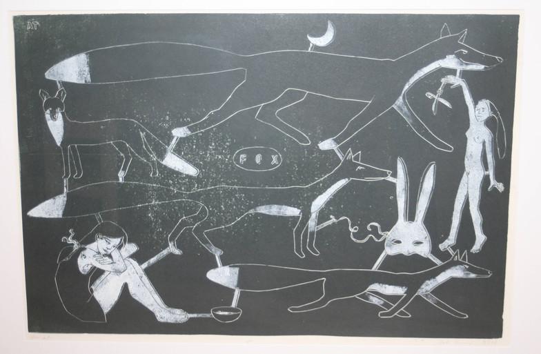 Anke Theinert, FOX IV (Unikat), Linoldru
