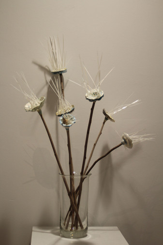 Caroline Laengerer, Blumenstrauß mit 7 B