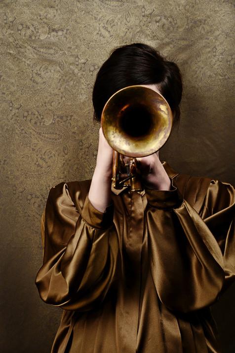 Falk Kastell, Golden sound, Alu Dibond,