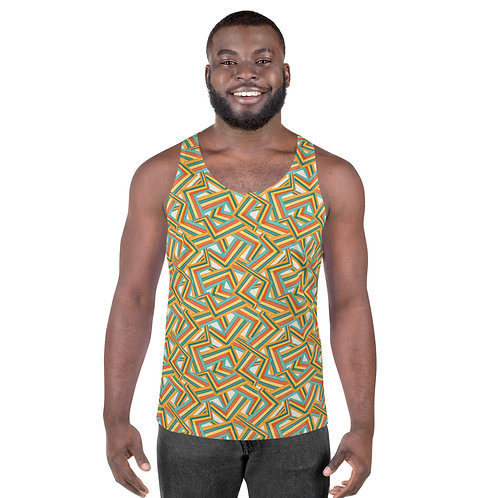 Abstract Geometric Tank Top