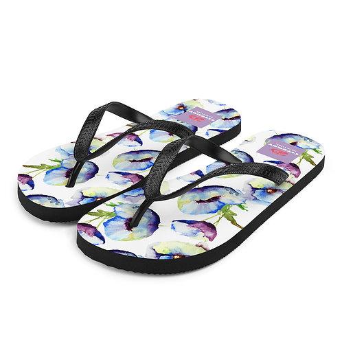 Floral Flip-Flops