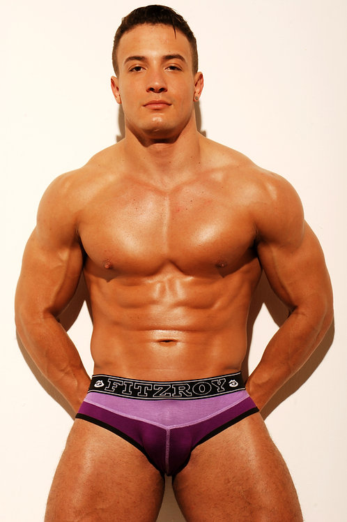 HK Jock Brief - Purple