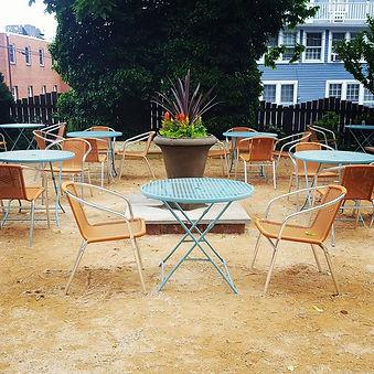 Trinity House Cafe's new patio