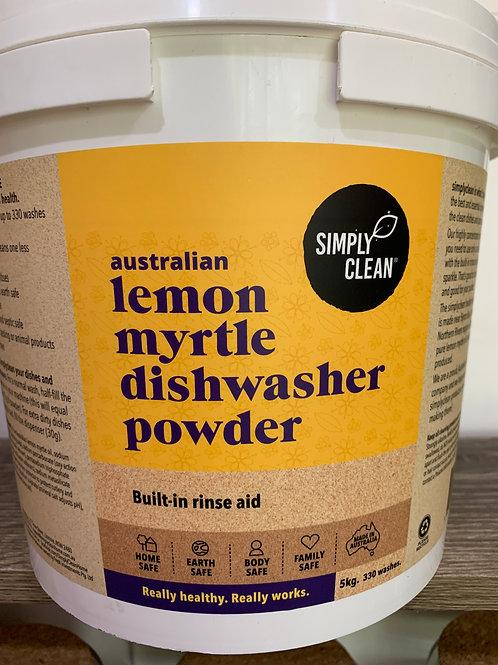 Simply Clean lemon myrtle dishwasher powder