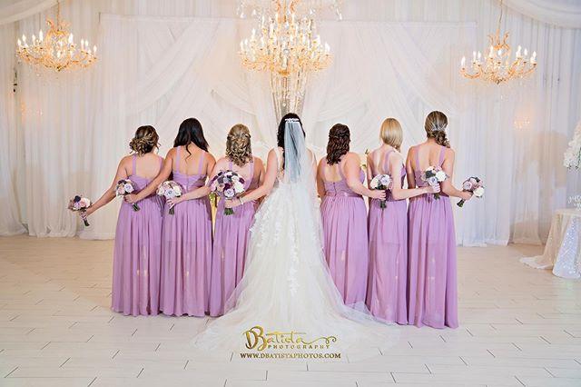 Bride & bridesmaids 🥰