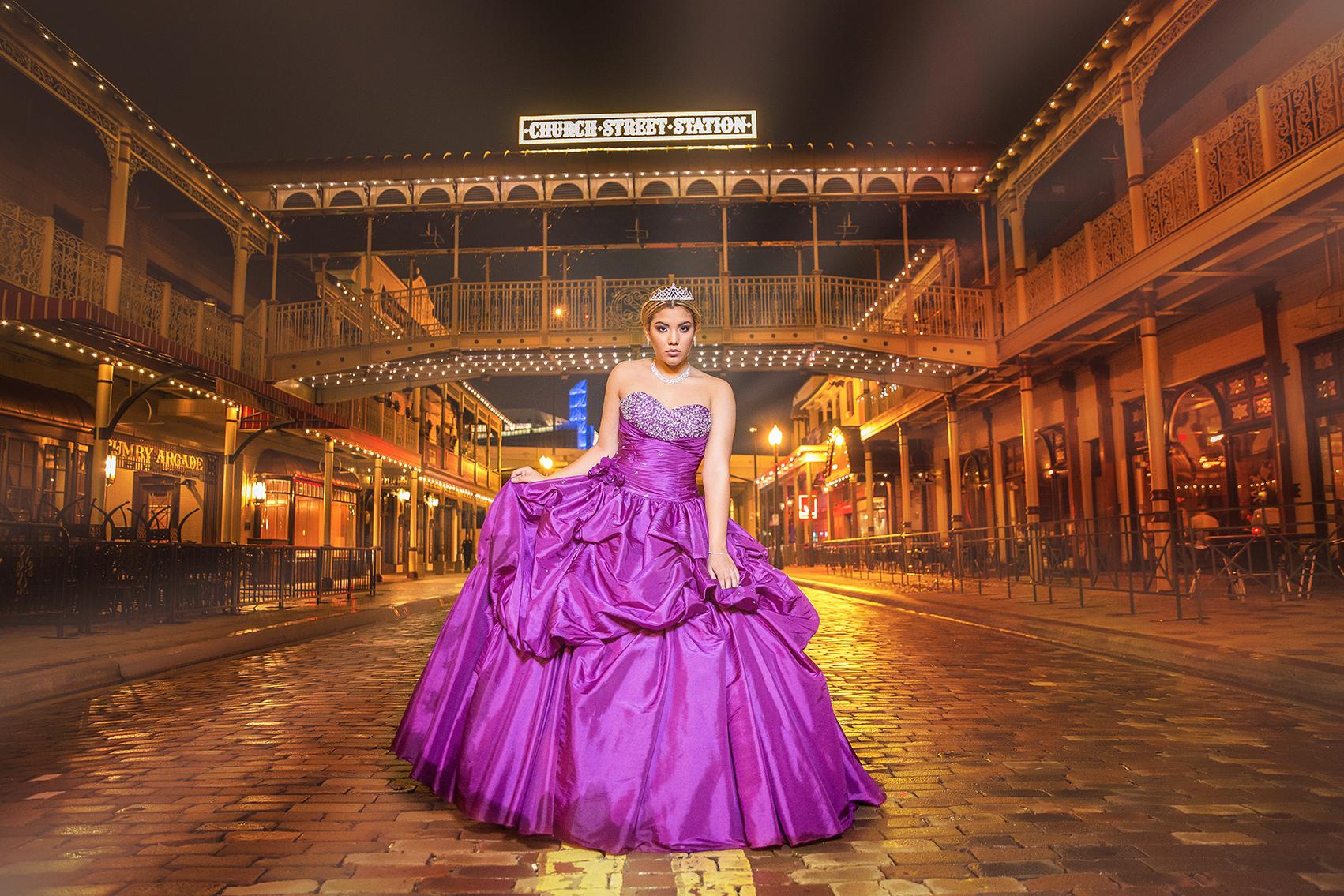 DBatista_Photography_Quinceañera_Photo_Session_Fotos_Downtown_Orlando