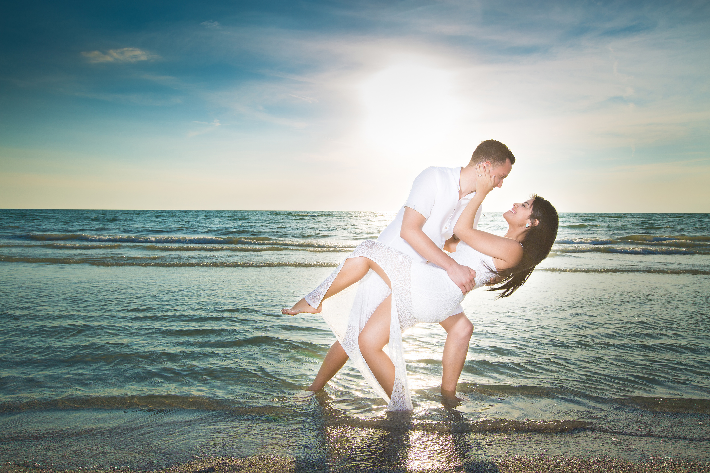 DBatista Photography_Engagement Session_Orlando FLORIDA_dancing in the beach eng