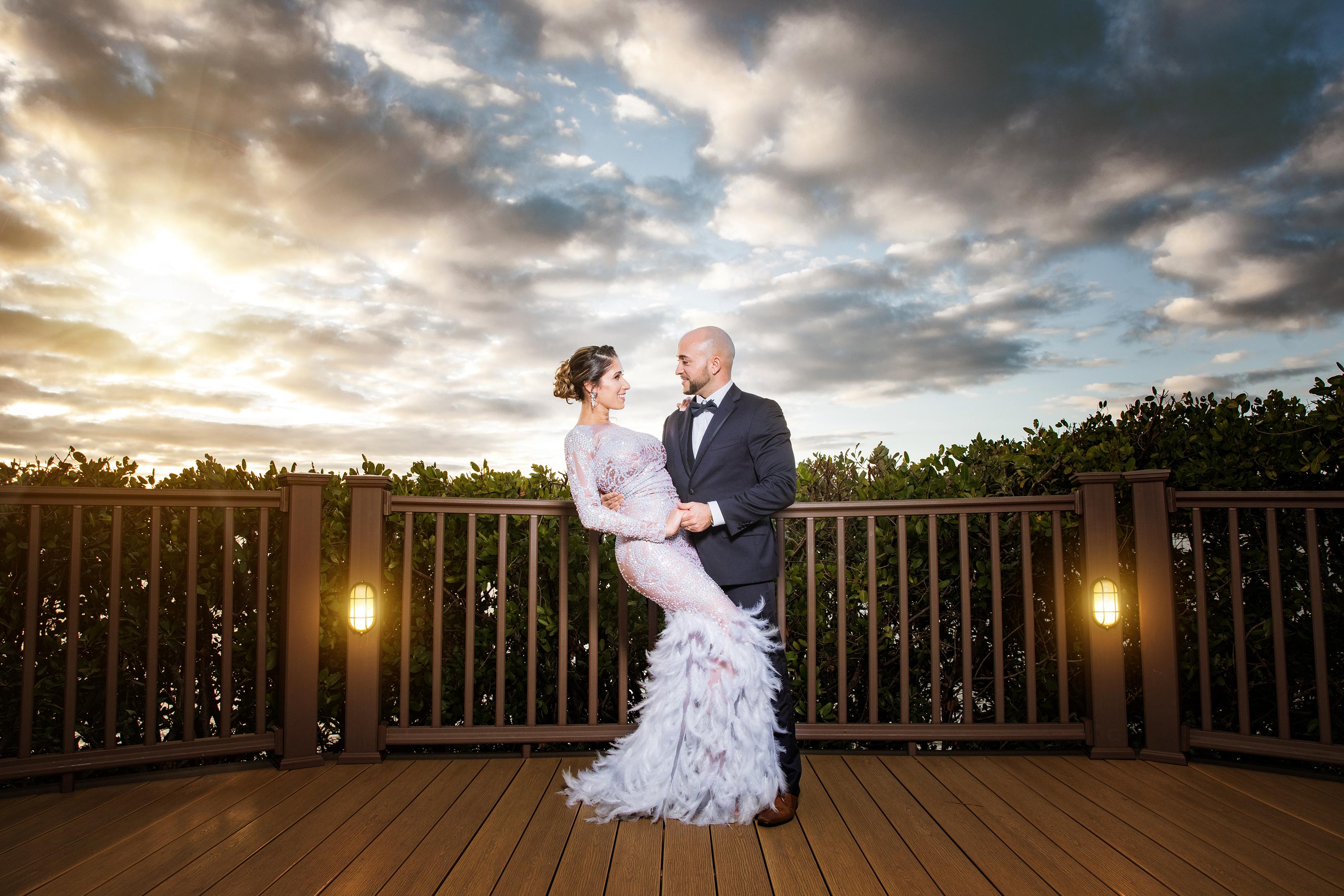 DBatista Photography Robert and Gio Post Wedding Session Tampa Crystal Ballroom Wedding Photographer