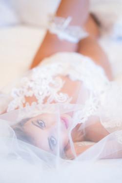 boudoir bridal photo