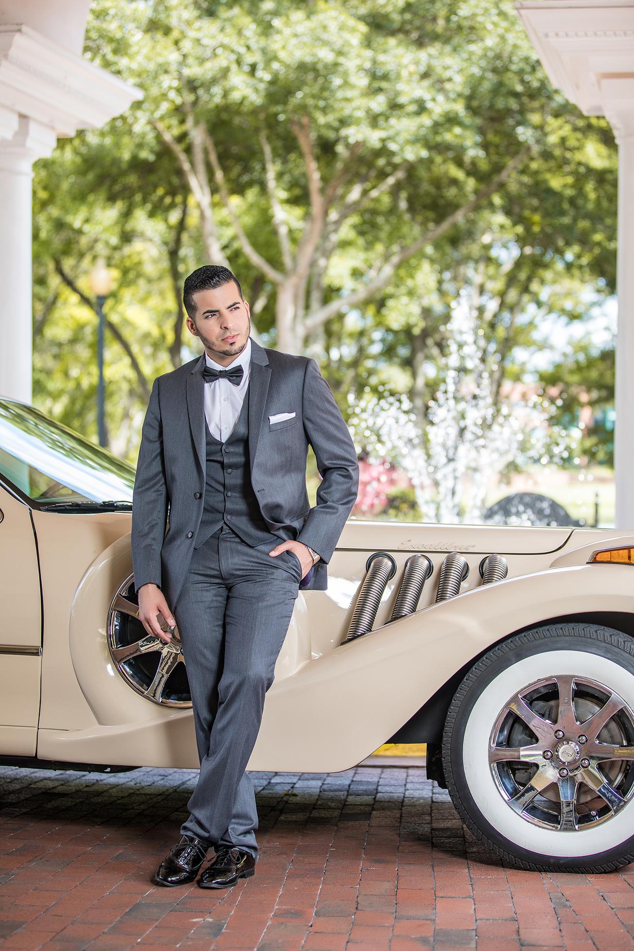 DBatista Photography_Wedding Photographers in Orlando Florida_Bride Rolls Royce_ Orlando Luxury Wedd