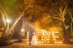 wedding love sign photo