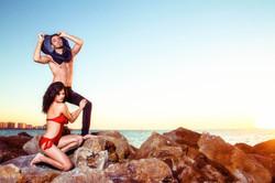 High Fashion Photoshoot Beach