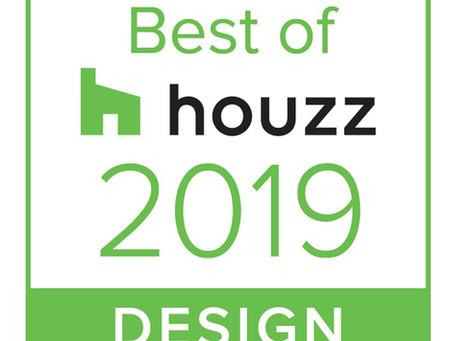 PJ Burns Awarded Best of Houzz 2019