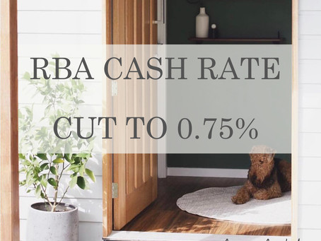RBA Cash Rate Cut to 0.75%