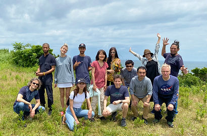 CE-5 Team, Kujukuri Beach, June 21, 2020