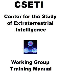 CSETI Working Group Training Manual