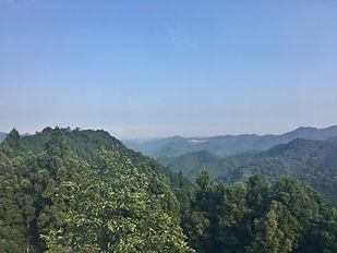 View from Shomorutouge, Hanno-shi, Saita